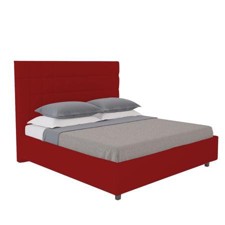 Купить Кровать Shining Modern 200х200 Велюр Красный