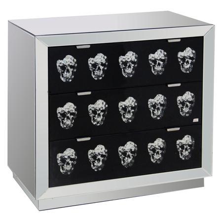 Купить Зеркальный комод с ящиками Safe