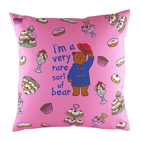 Купить Подушка с принтом Paddington Bear Pink