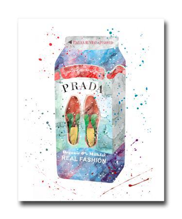 Купить Постер Prada Milk A3