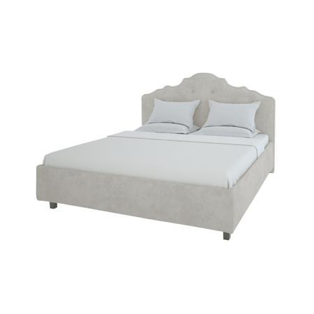 Купить Кровать Palace 160х200 Велюр Светло-бежевый