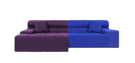 Купить Диван Tufty-Time Sofa Фиолетово-синяя Шерсть