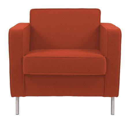 Купить Кресло George Оранжевая Шерсть