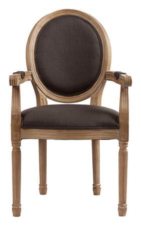 Купить Кресло Pollina Серый Хлопок