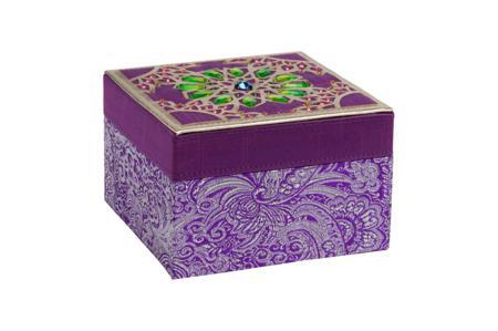 Купить Декоративная шкатулка Blossom Violet