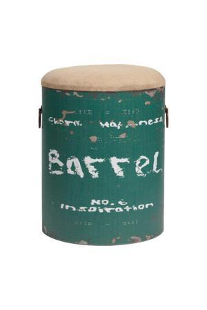 Купить Столик-табурет Barrel Green