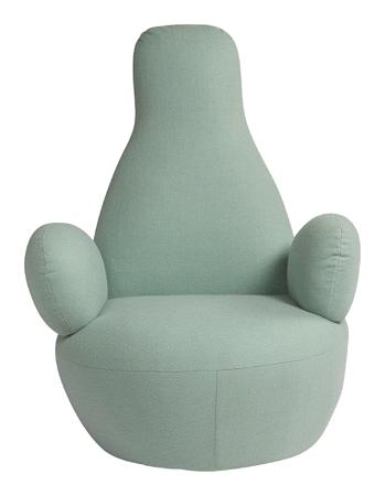 Купить Кресло Bottle Chair Цвета Тиффани Кашемир