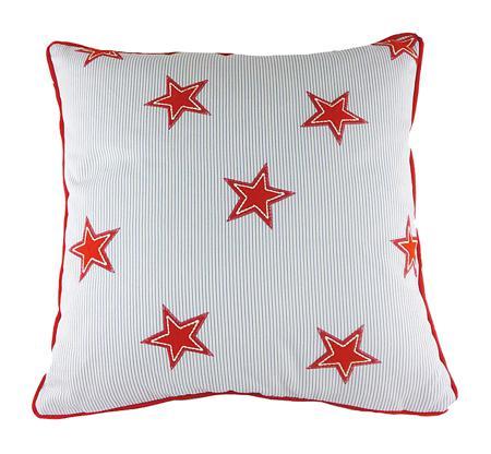 Купить Подушка с принтом Starboard Red
