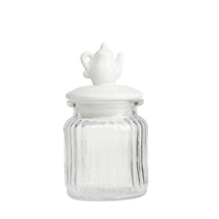 Купить Декоративная банка с крышкой Teapot