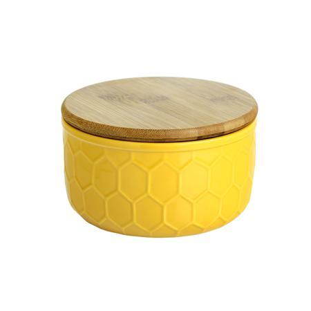 Купить Ёмкость для хранения Honeycomb Жёлтая Большая