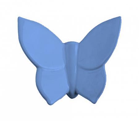 Купить Декоративная бабочка Butterfly (голубая) 10*12