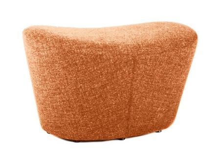 Купить Оттоманка Papilio Lounge Chair Оранжевая Кашемир
