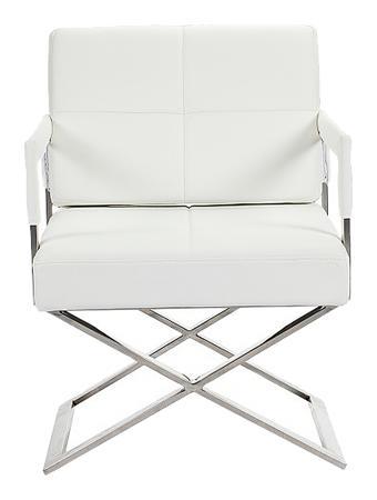 Купить Кресло Aster X Chair Белая Кожа Класса Премиум