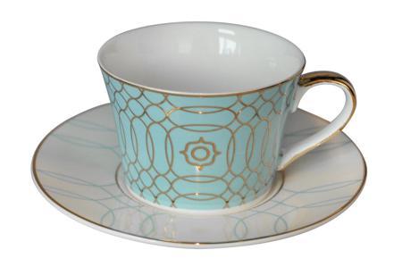 Купить Чайная пара Turquoise Veil