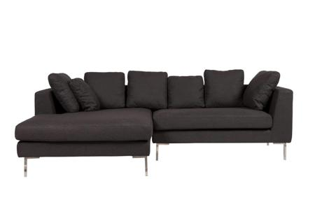 Купить Диван Charles Sofa Sectional Left Dark Grey