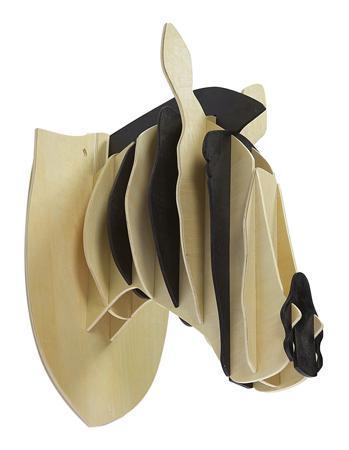 Купить Декоративная голова зебры Ivory