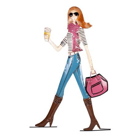 Купить Декоративное настенное панно Business Girl