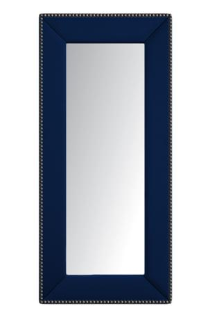 Купить Зеркало напольное с гвоздиками Синее