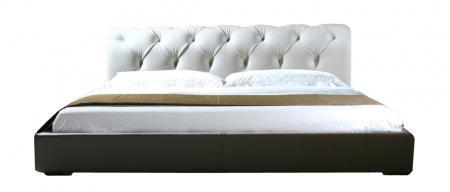 Купить Кровать Adelle 160х200 Белая Экокожа