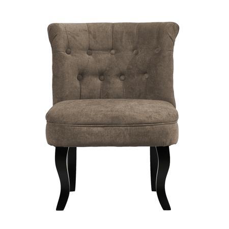 Купить Кресло Dawson Серо-Коричневый Велюр