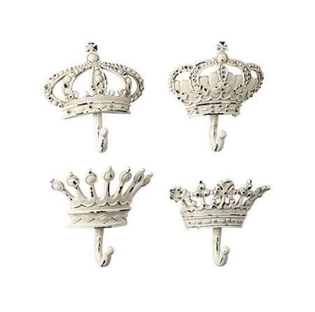 Купить Набор настенных крючков Queen White
