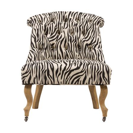 Купить Кресло Amelie French Country Chair Зебра