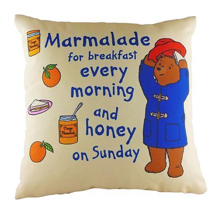 Купить Подушка с принтом Paddington Marmalade