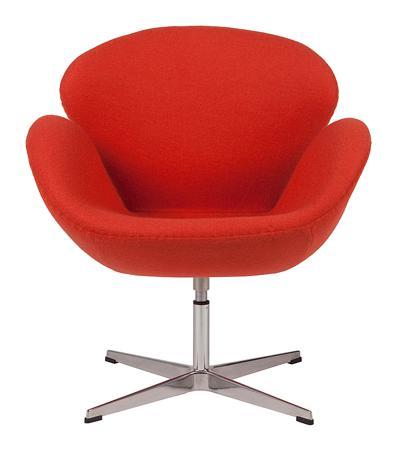 Купить Кресло Swan Chair Алая Шерсть