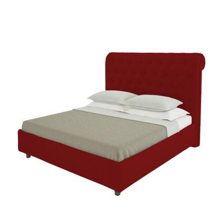 Купить Кровать Sweet Dreams 200х200 Велюр Красный