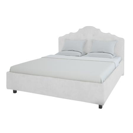 Купить Кровать Palace 200х200 Велюр Молочный