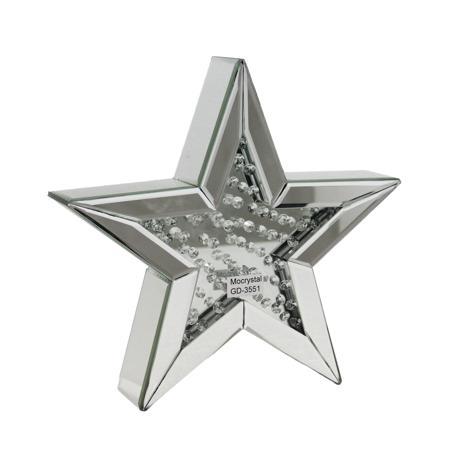 Купить Декоративная зеркальная звезда Большая