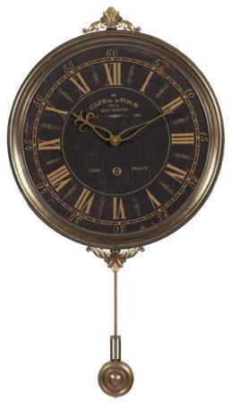 Купить Настенные часы с маятником Cafe De La Tour