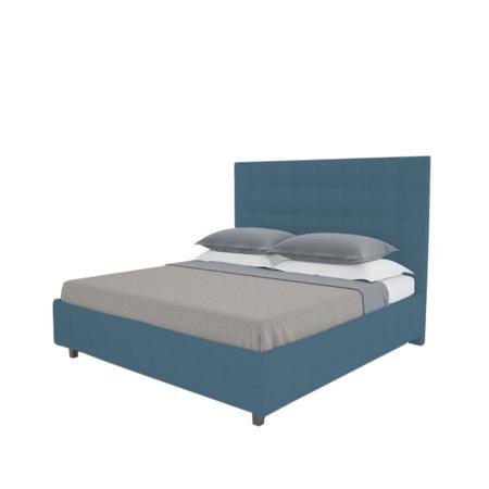 Купить Кровать Royal Black 160х200 Велюр Морская волна