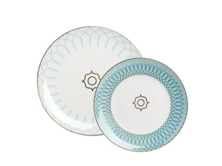 Купить Комплект тарелок Turquoise Veil