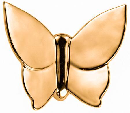 Купить Декоративная бабочка Butterfly (золотая) 10*12