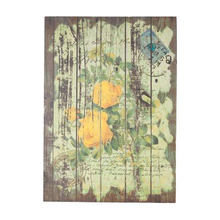 Купить Декоративная панель Flores Yellow