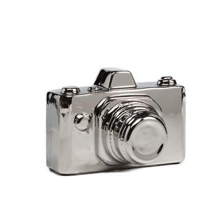 Купить Предмет декора Camera Серебряная