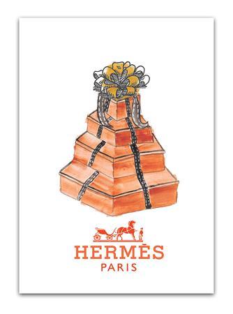 Купить Постер Hermes А4