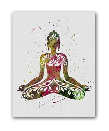 Купить Постер Yoga А3