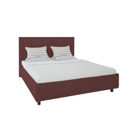 Купить Кровать Royal Black 160х200 Велюр Коричневый