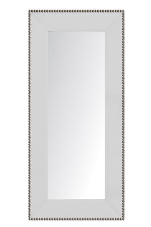 Купить Зеркало напольное с гвоздиками Белое