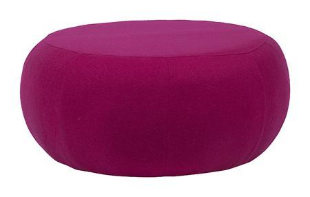 Купить Пуф Pix Темно-розовая Шерсть