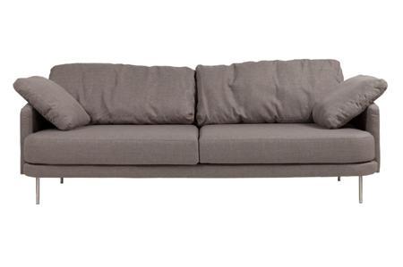 Купить Диван Camber Sofa Большой Серо-коричневый Нейлон