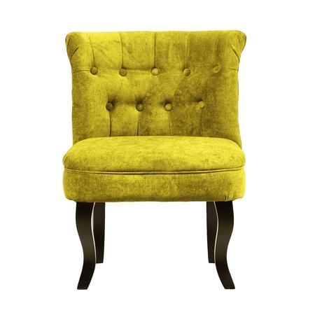 Купить Кресло Dawson Жёлтый Велюр