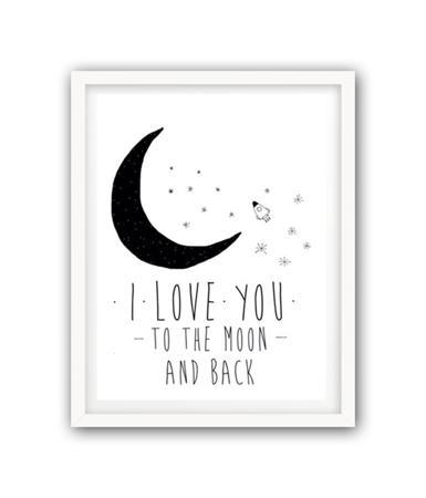 Купить Постер К луне и обратно А3