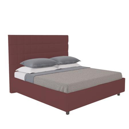 Купить Кровать Shining Modern 140х200 Велюр Коричневый