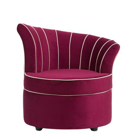 Купить Кресло Shell Фиолетовое Велюр