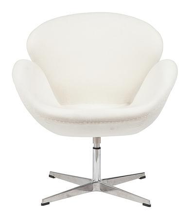Купить Кресло Swan Chair Бежевый Кашемир