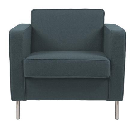 Купить Кресло George Тёмно-Зелёный Микровелюр