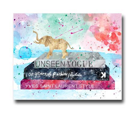 Купить Постер Unseen Vogue A3